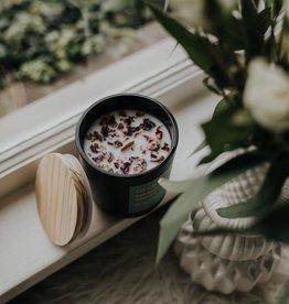 LIT LAB Co. Dark Rose + Labdanum Soy Wax Candle