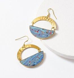 Matr Boomie Ria Swirl Earrings