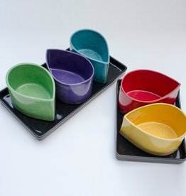 Donna's Hands Ceramic Rectangle Tray