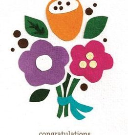 good paper Floral Congrats