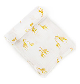 Pehr Organic Cotton Swaddle - Giraffe
