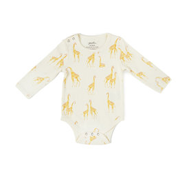 Pehr Organic Shoulder Snap One-Piece - Giraffe