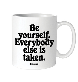 Quotable Cards Be Yourself Ceramic Mug