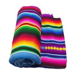 Lumily Hacienda Foot Loom Embroidered Blanket