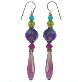 Owen Glass Colletion Persian Comment Earrings