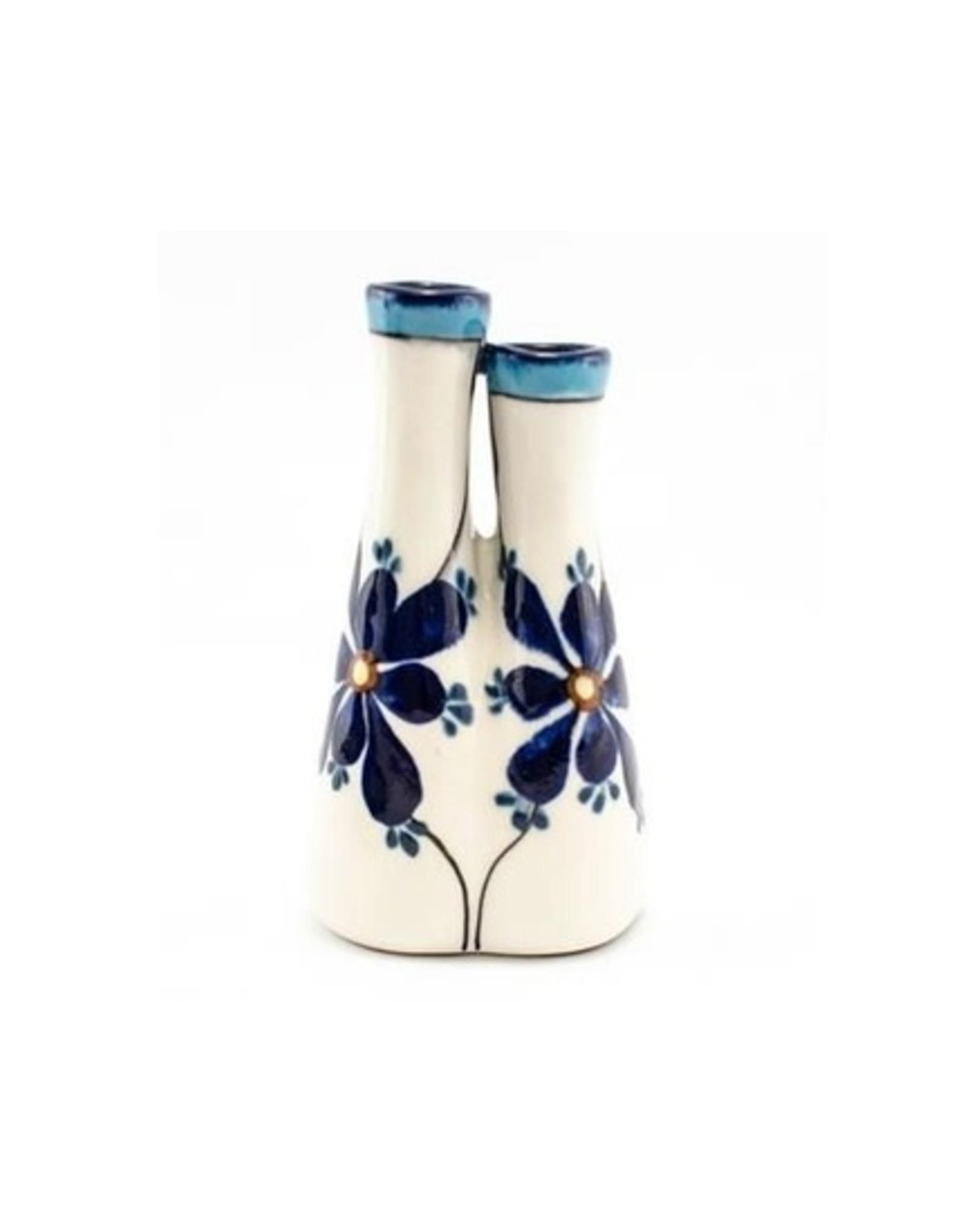 Lucia's Imports Double Bud Vase
