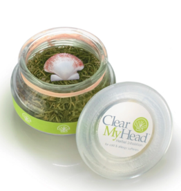 Clear Your Head Clear My Head: Herbal Inhalation Jar