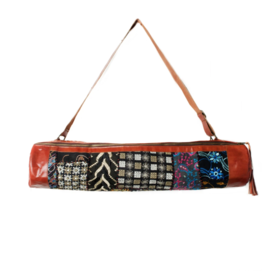 Matr Boomie Color Splash & Leather Yoga Bag