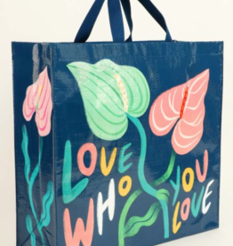 Blue Q Love Who You Love Shopper