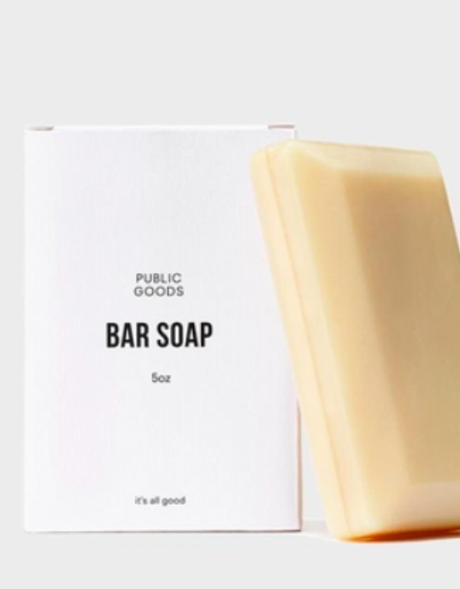 Public Goods Bar Soap 5 oz