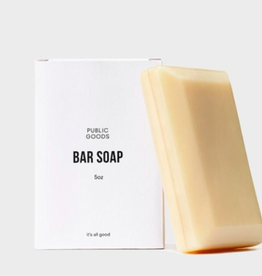 Public Goods Bar Soap 5 oz