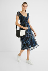 Desigual Flared Floral Paisley Dress
