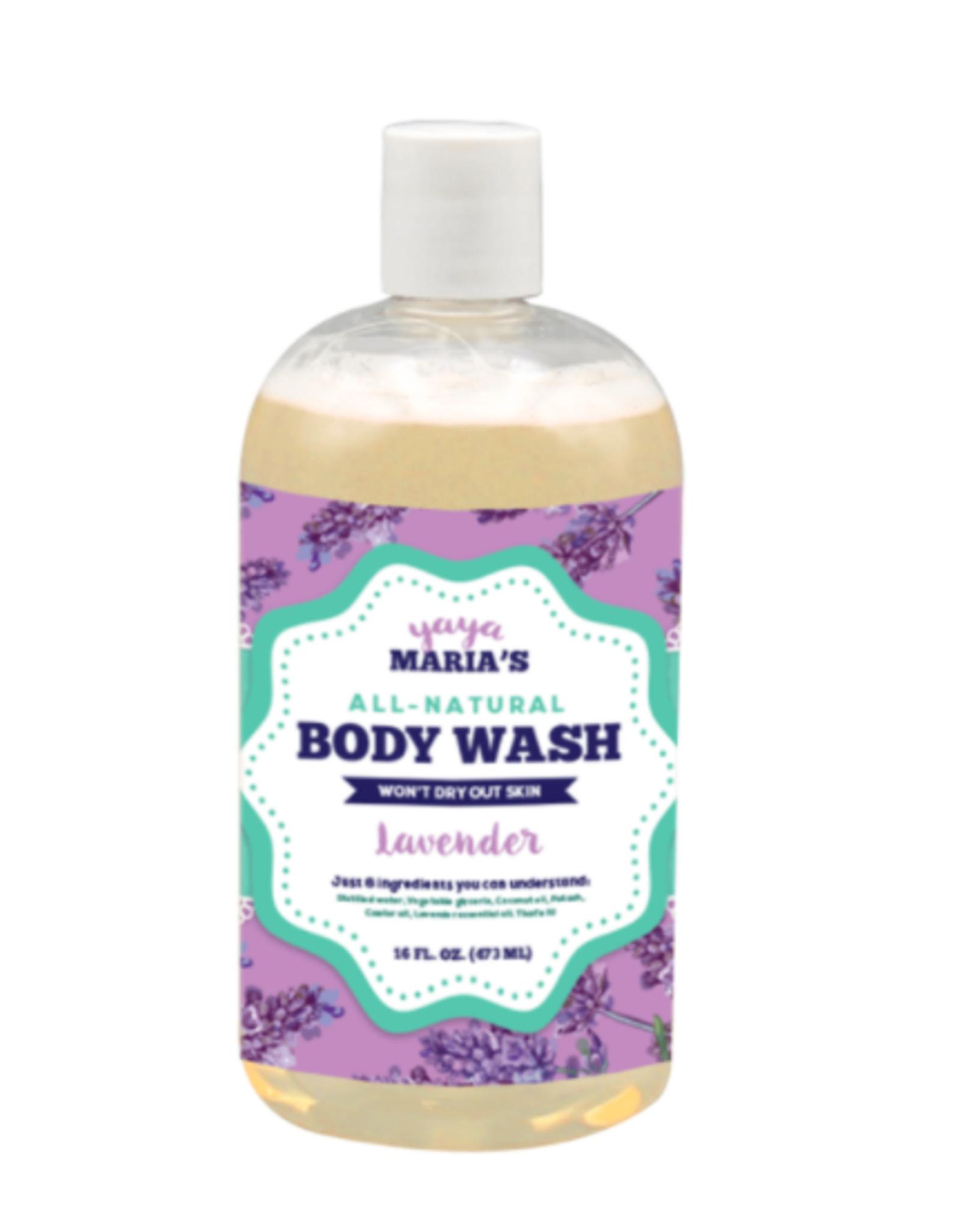 yaya maria's Yaya Maria's Natural Body Wash 16 FL OZ