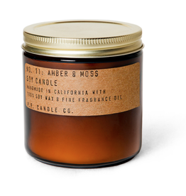 P.F. Candle Co. Amber & Moss - 12.5 oz Large Soy Candle