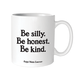 Quotable Cards Silly, Honest, Kind Ceramic Mug