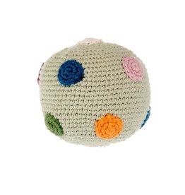 Pebble Organic Ball Rattle
