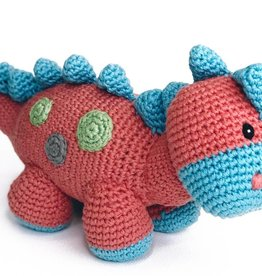 Pebble Dino Rattle