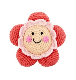 Pebble Friendly Flower Rattle