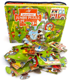 Little Likes Kids Splash Park Jumbo Puzzle- 24 Pieces