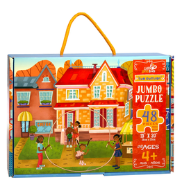 Little Likes Kids Fun Outside Jumbo Puzzle- 48 Pieces