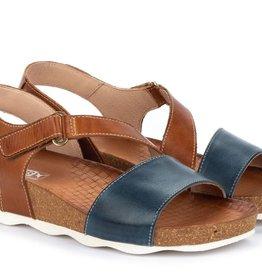 Pikolinos Mahon Wedge Sandal Sapphire