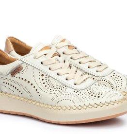 Pikolinos Mesina Perforated Leather Sneaker Nata