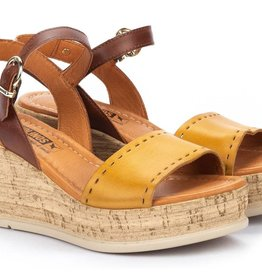 Pikolinos Miranda Wedge Sandal Honey