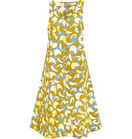 Global Mamas Batik Organic Cotton Oaklynn Dress Mod Mustard