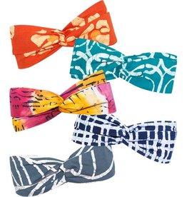 Global Mamas Twist Batik Headband Assort.  O/S