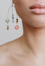 Mata Traders Kelsey Mobile Earrings Gold