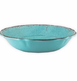 le cadeaux Salad Serving Bowl  Antiqua Turq