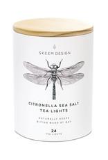 Skeem Citronella Sea Salt Tea Lights