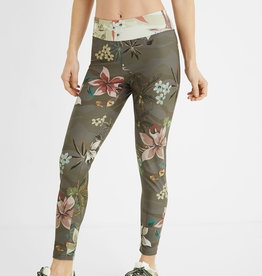 Desigual Camoflower Print Leggings
