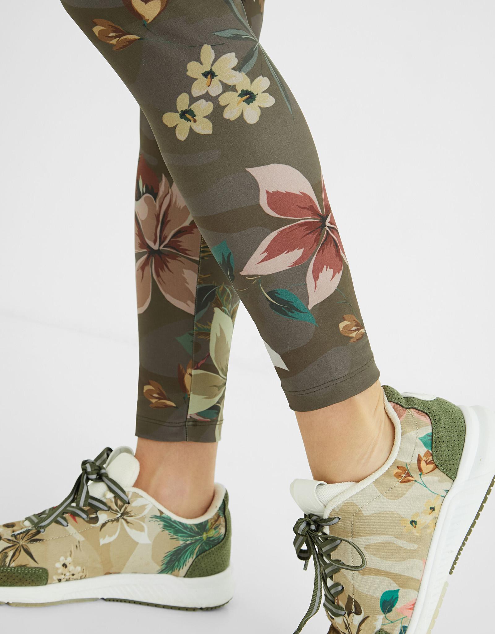 Desigual Camoflower Print Leggings
