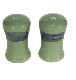 Clay in Motion Clay in Motion Salt and Pepper Set  Misty Green