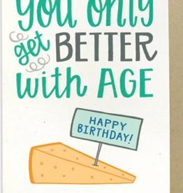 Hennel Paper Co. Birthday Card - Cheese