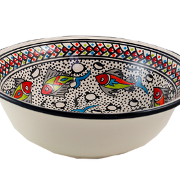 sobremesa Rainbow Fish Med Deep Bowl