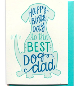 Hennel Paper Co. Birthday Card - Dog Dad