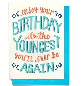 Hennel Paper Co. Birthday Card - Youngest