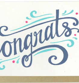 Hennel Paper Co. Congrats Card - Congrats