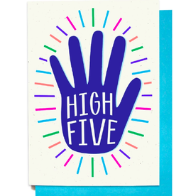 Hennel Paper Co. Congrats Card - High Five