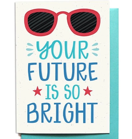 Hennel Paper Co. Grad Card - Your Future Is So Bright