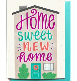 Hennel Paper Co. Housewarming Card - Home Sweet New Home