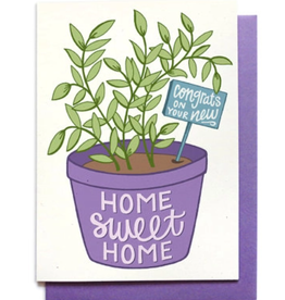 Hennel Paper Co. Housewarming Card - Houseplant