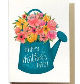 Hennel Paper Co. Mother's Day Card - Watering Can