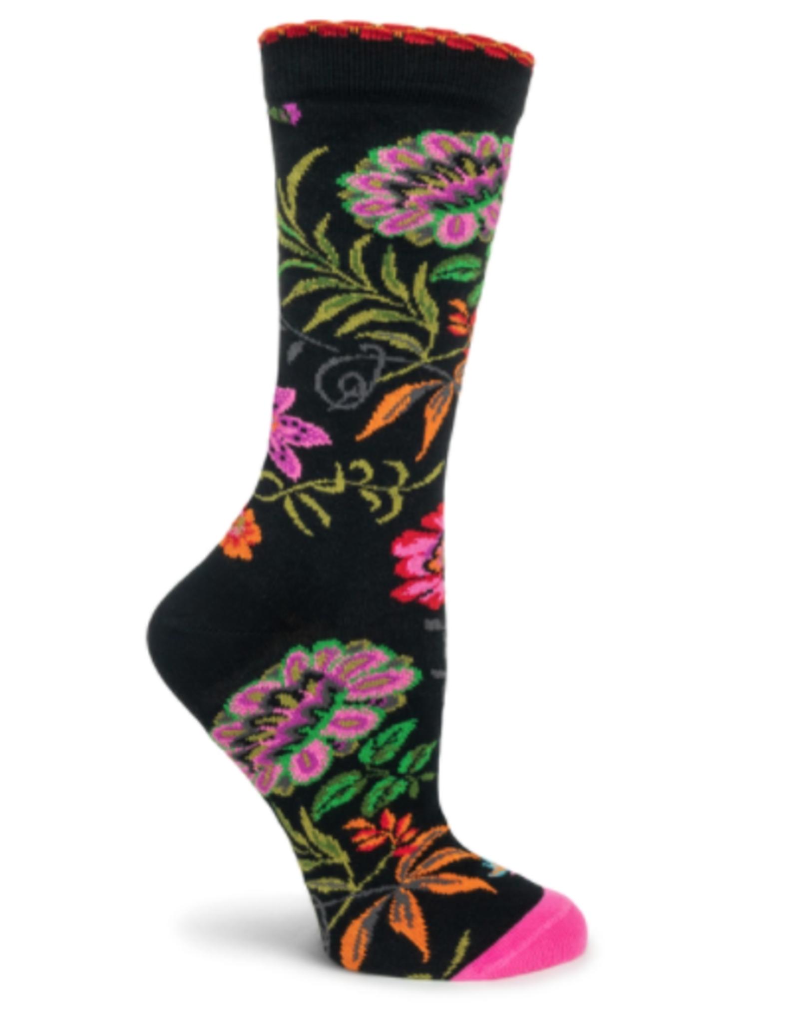 Camelia  Socks Black