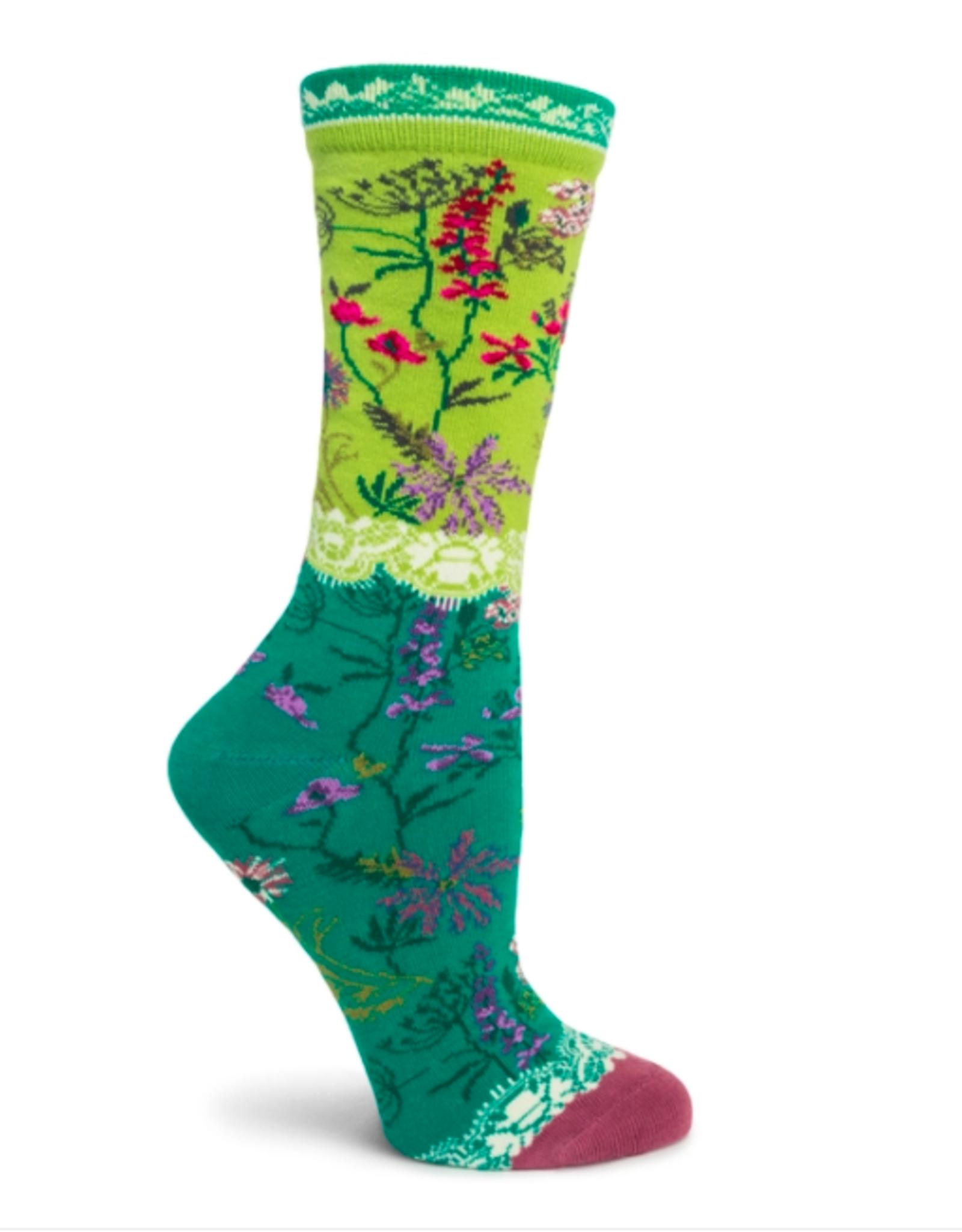 Ozone Designs Garden Lace Socks
