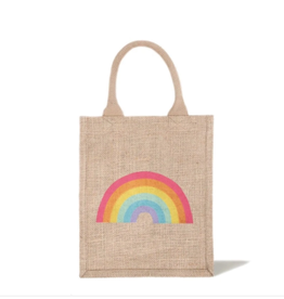 The Little Market Reusable Gift Bag Medium Tote - Rainbow