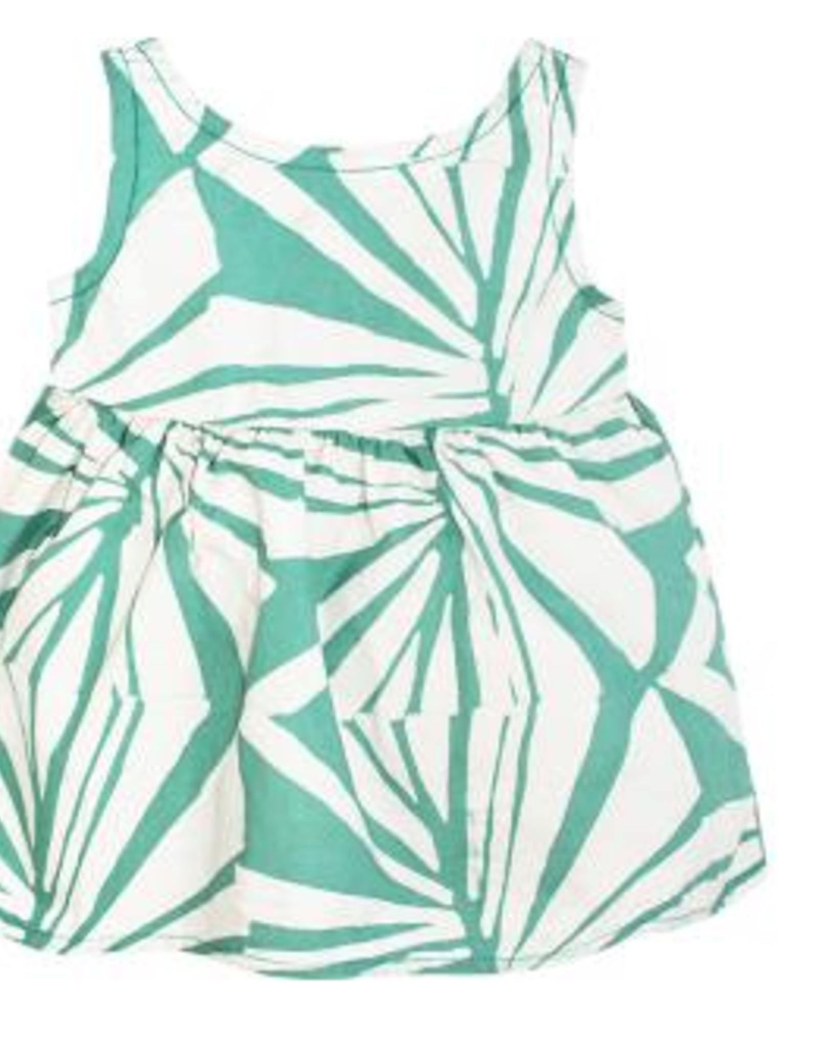 Global Mamas Baby Sundress-Rays-Sage-Organic