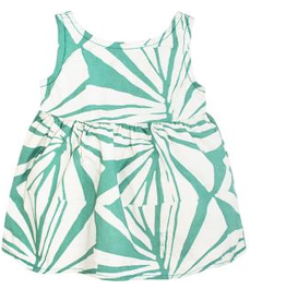 Global Mamas Baby Sundress-Rays-Sage-Organic